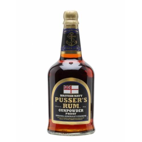 Pussers 3 Year Old British Navy Rum 70cl