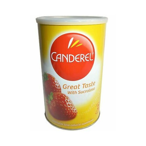 Canderel Yellow Granular Low Calorie Sweetener 500g - 1 Tin