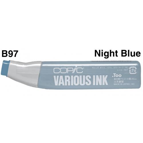 Copic Ink B97 - Night Blue  CZ20076157