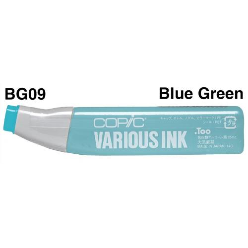 Copic Ink BG09 - Blue Green  CZ2007636