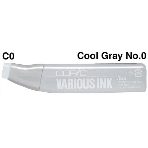Copic Ink CO - Cool Gray No.0   CZ2007680