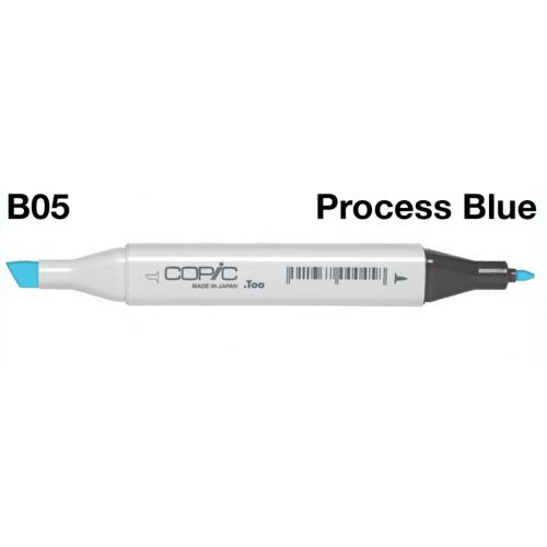 Copic Marker B05 - Process Blue  CZ2007550