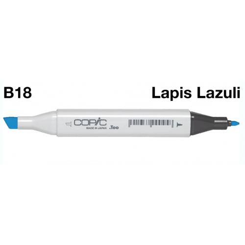 Copic Marker B18 - Lapis Lazuli  CZ20075224