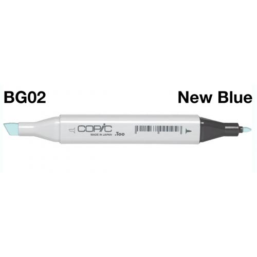 Copic Marker BG02 -New Blue  CZ20075135