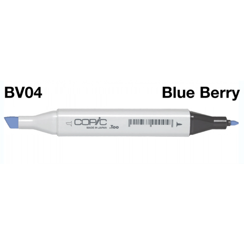 Copic Marker BV04 - Blue Berry  CZ20075170