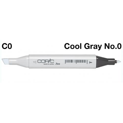 Copic Marker C0 - Cool Grey  No.0  CZ2007580