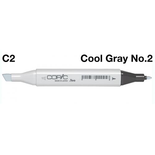 Copic Marker C2 - Cool Grey  No.2  CZ2007581