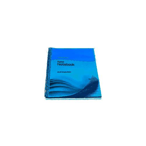 Initiative Spiral Notebook A4 Rld 100pg Pack 10
