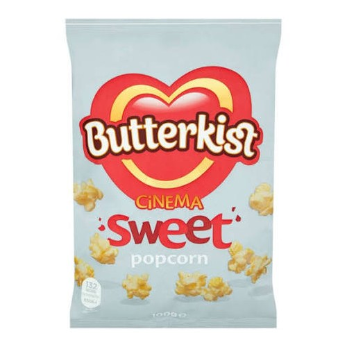 Butterkist Sweet Popcorn  85g bags Pack 12