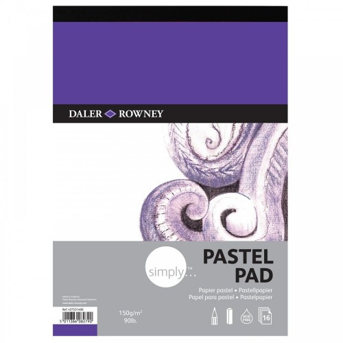 Daler Simply Pastel Pad A4 (437531400) 150gsm 16 sheets