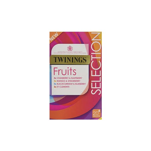 Twinings fruit Infusion Tea Bags (Pk 20) F09614