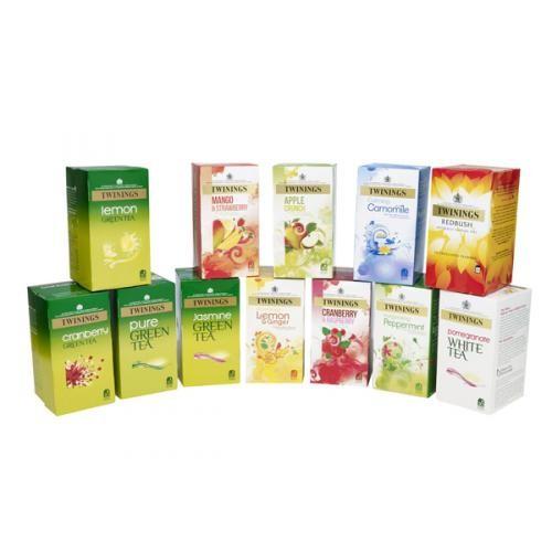 Twinings Herbal Infusion Tea Bag Variety Pk 12 Pks of 20 F08750