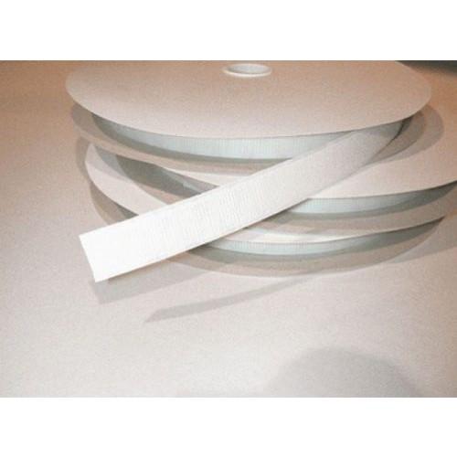 Velcro Hook 20mm x 25m White Self Adhesive