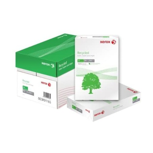 Xerox Recycled 80gsm 100% A4 -  Pack 500