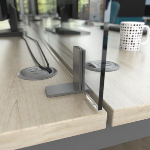 Desktop Mounted High Screens ACRYLIC 800mm