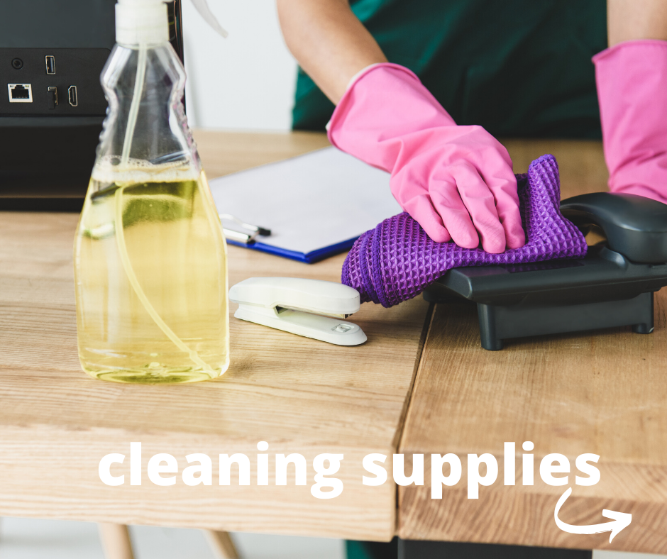 order cleaning supplies