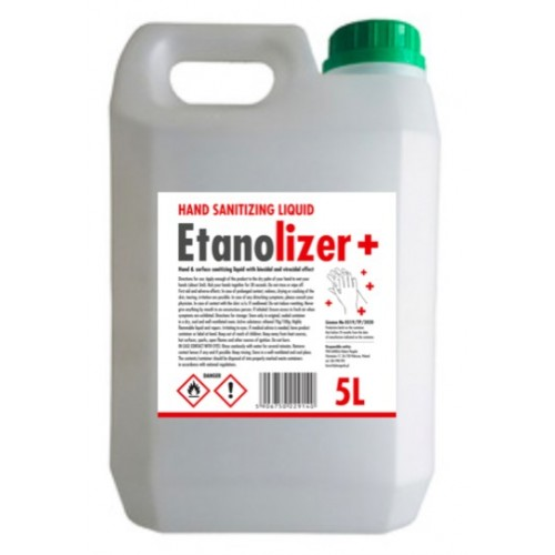 5 litre Hand and Surface Sanitiser Liquid