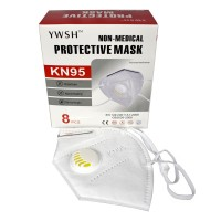 KN95 YWSH WV Face Masks - Infection Protection With Valve Respirator