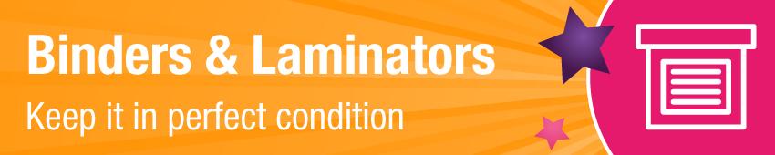 Binders & Laminators