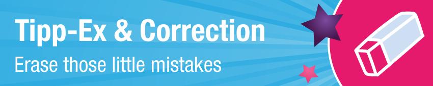 Tipp-Ex & Corrections