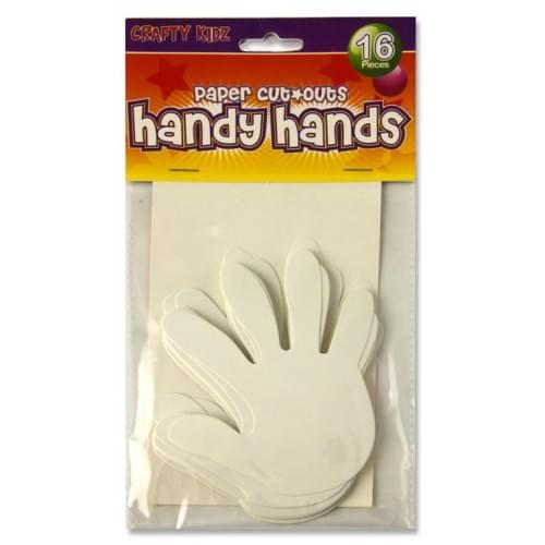 Cut Out Hands (pack of 16)