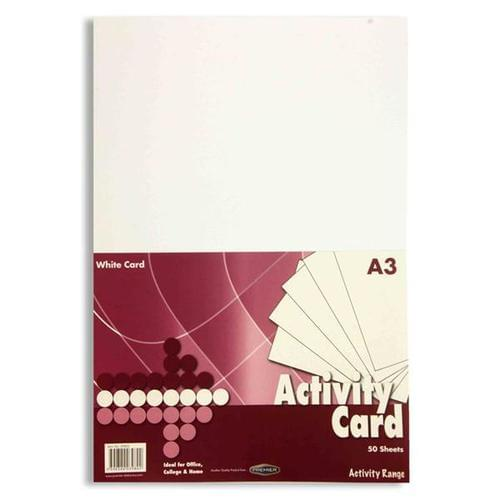 A3 White Card 160gsm (50 sheets)