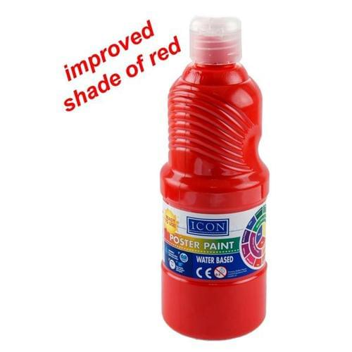 Icon Apprentice Paint 500ml Scarlet Red