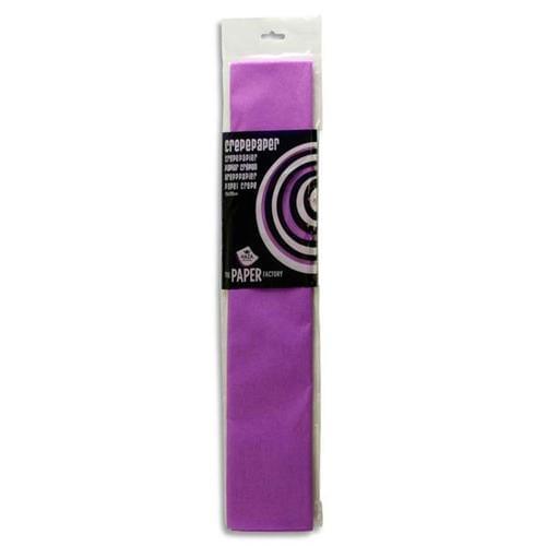Crepe Paper 250cm x 50cm - Lilac