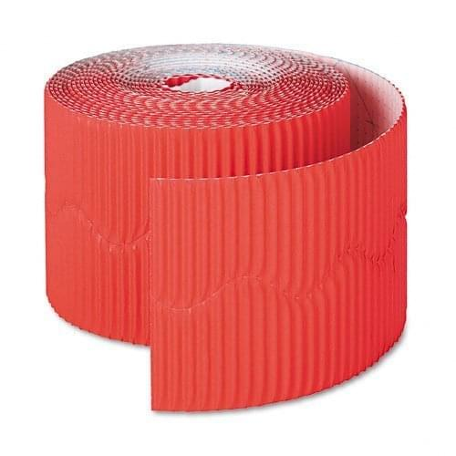 BORDETTE BORDER 57mm x 15m - FLAME RED