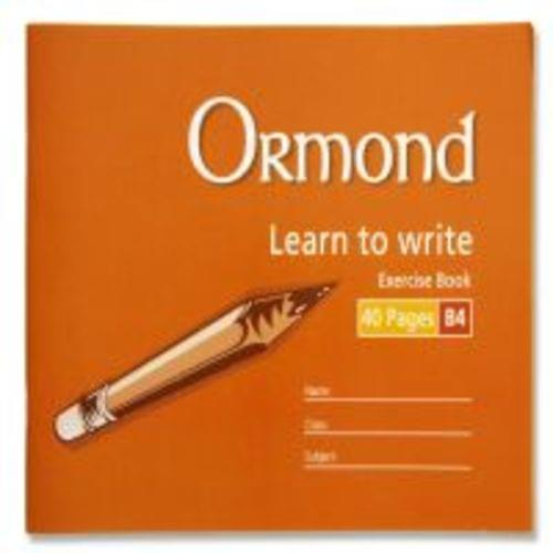 B4 Learn to Write Handwritting Copybook (40 Pages)