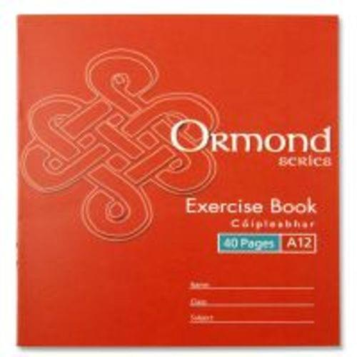 A12 Exercise Book (40 Pages)