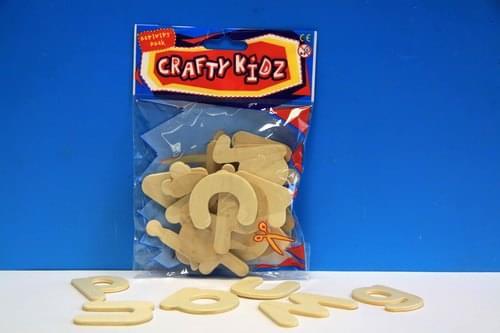 Crafty Kidz - Wooden Alphabet 26 pce