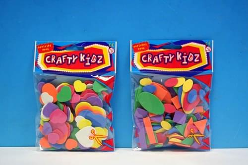 Crafty Kidz - Assorted Foam Shapes