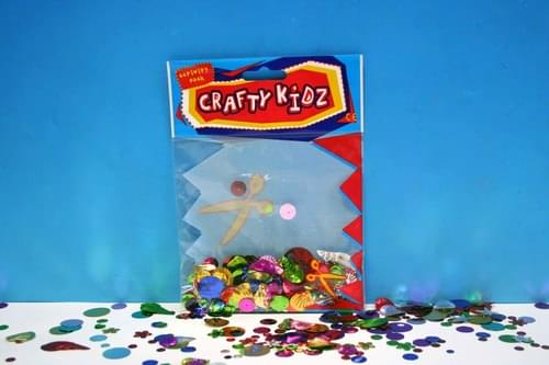 Crafty Kidz - Sequin Mix 25g