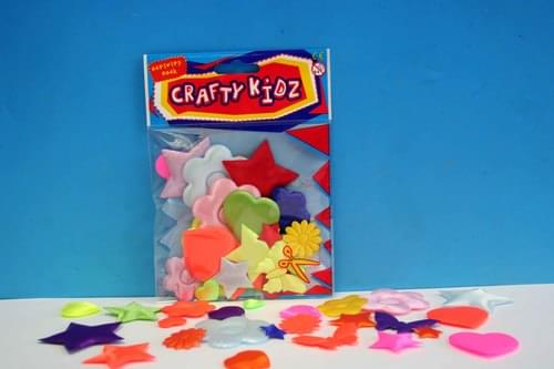 Crafty Kidz - Satin Puff 24 Pack