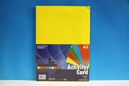 A3 Coloured Card 50 sheets per Ream