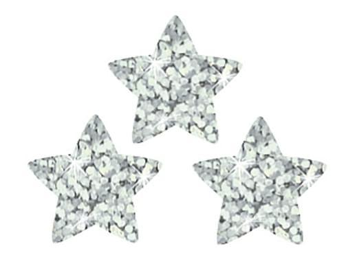 Silver Sparkle Stars
