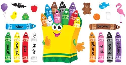 Colourful Crayons BB set