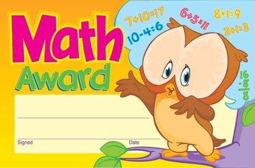 Award - Math Award