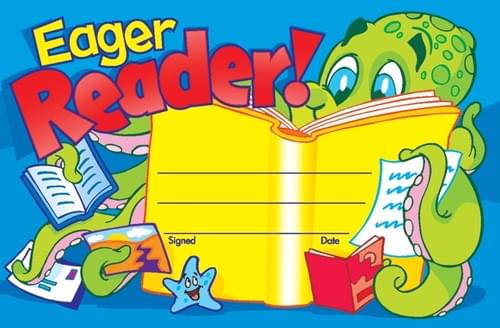 Award - Eager Reader