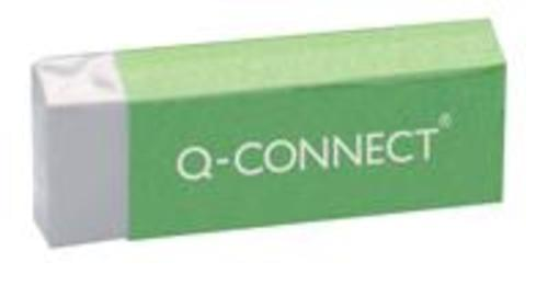 Q-Connect White PVC Eraser (Pack of 20)