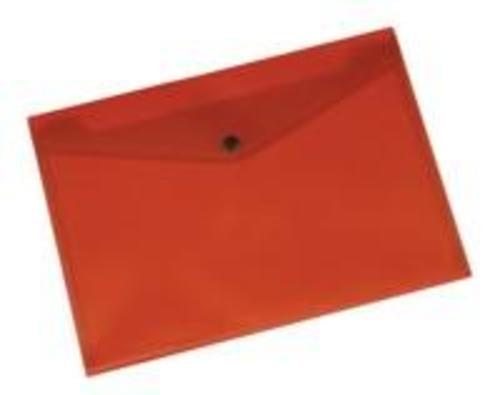Q-Connect Doc Folder Polyprop A4 Red  (Pack of 12)
