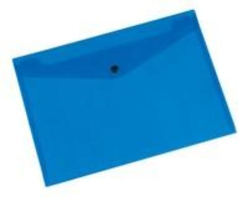 Q-Connect Doc Folder Polyprop A4 Blue (Pack of 12)