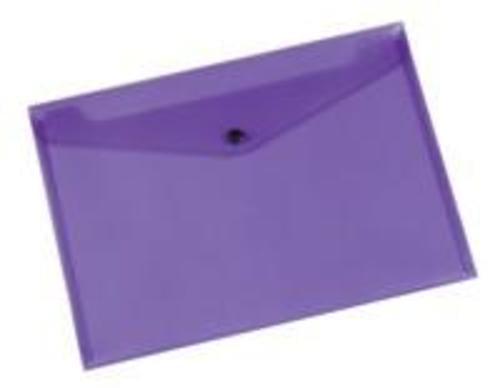 Q-Connect Doc Folder Polyprop A4 Purple (Pack of 12)