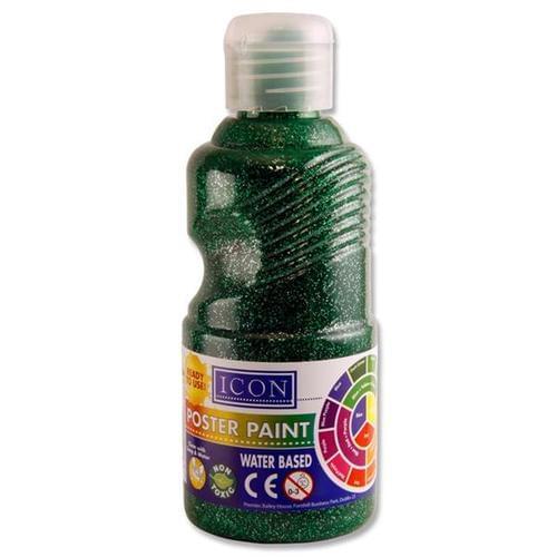 GLITTER PAINT 250ml - GREEN