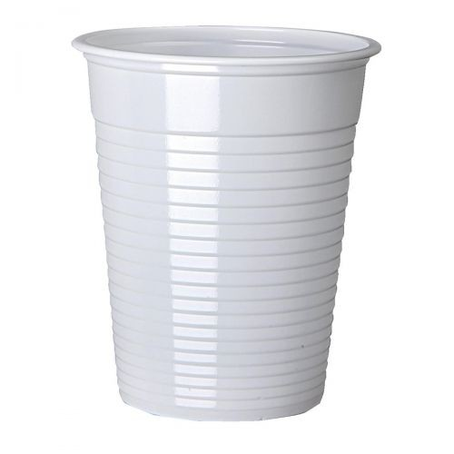 Cup for Cold Drinks Non Vending Machine 7oz 207ml White Ref 0510058 [Pack 100]