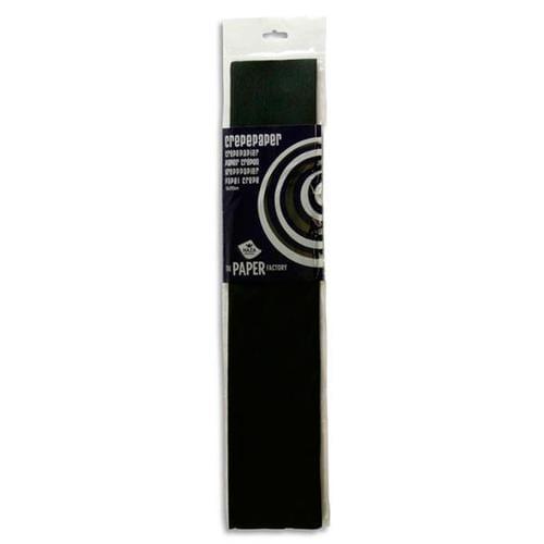 Crepe Paper 250cm x 50cm - Black