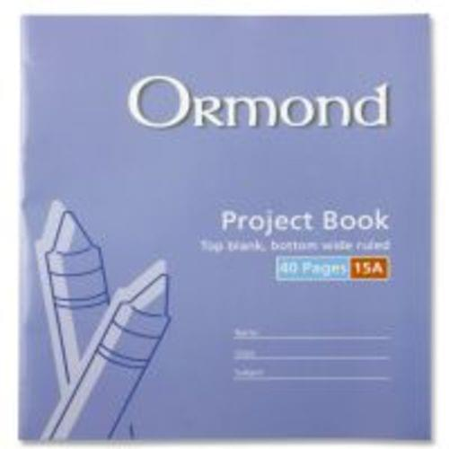 15A Project Copybook (40 Pages)