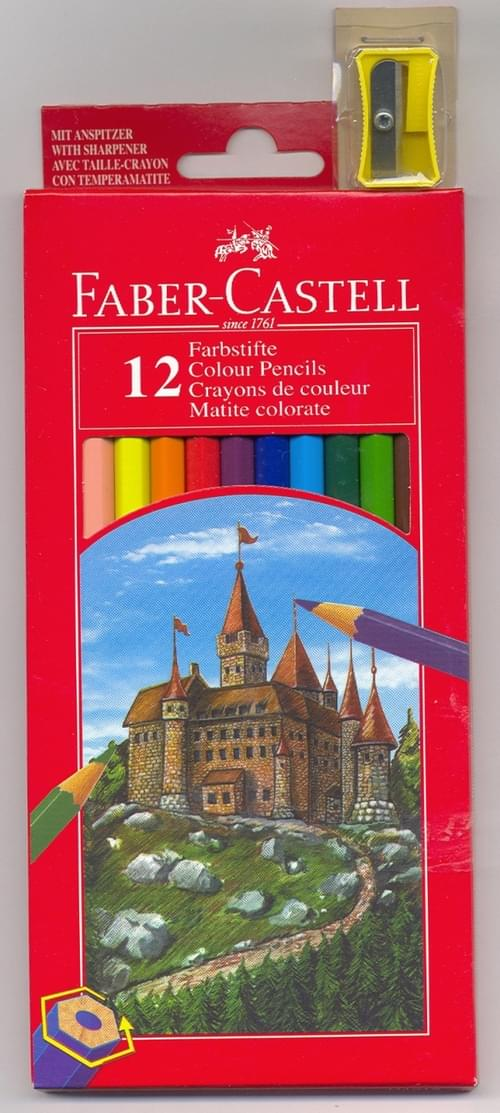 Faber Castell - Full Size Colouring Pencils (pack of 12)