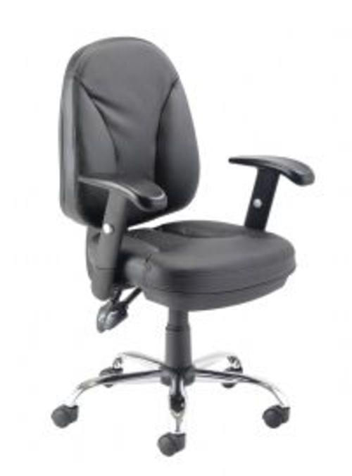 Puma Leather Look Operators Office Chair